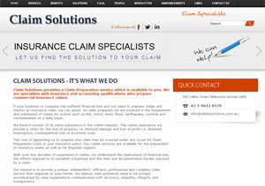 insurance claim solutions